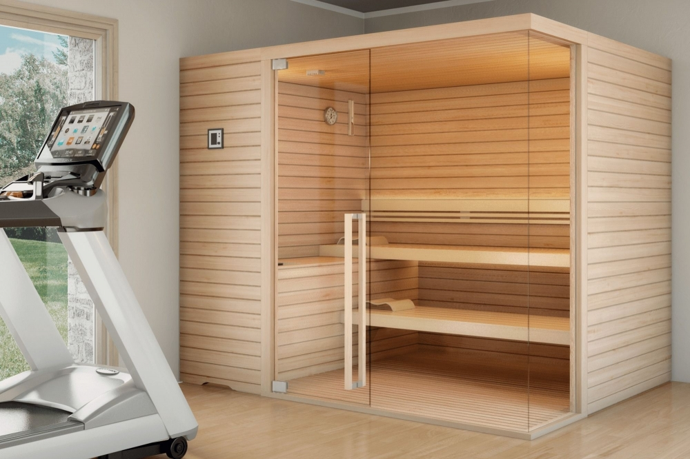 Top Class, la sauna in legno di Emlock - Spa & Wellness Solutions