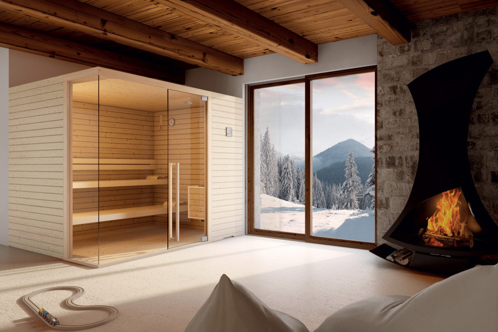 Elegant, la sauna in legno di Abete - Spa & Wellness Solutions