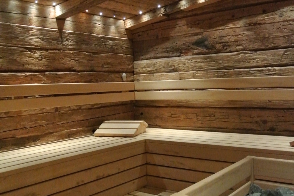 Elite, la sauna in legno antico - Spa & Wellness Solutions