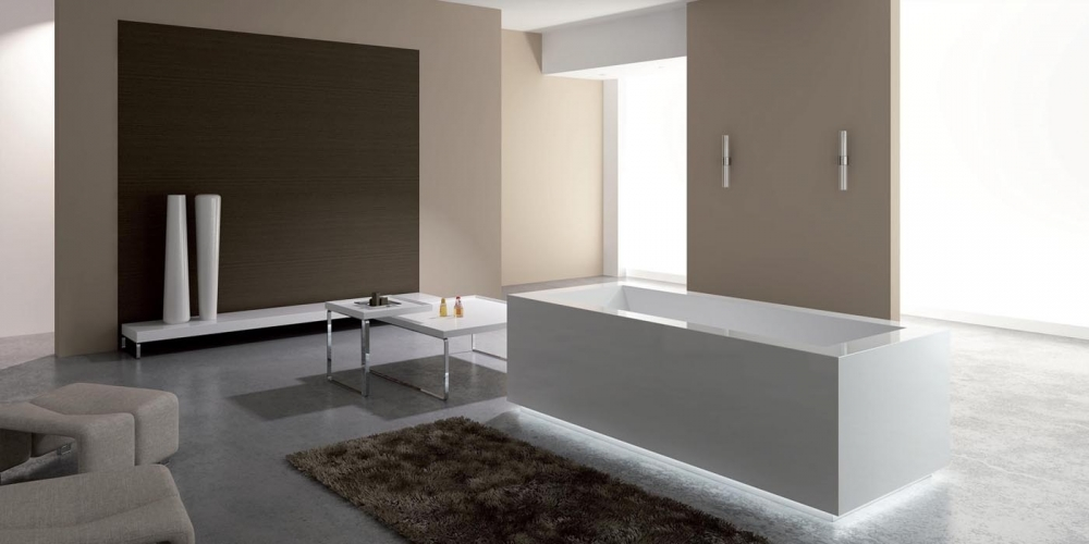 Vasca idromassaggio in Corian 180x85 - Spa & Wellness Solutions